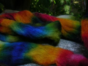My First Dyeing Experience