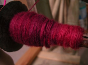 Red Single on the Bobbin