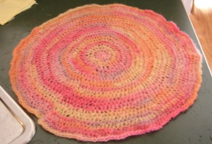 Felted Circle