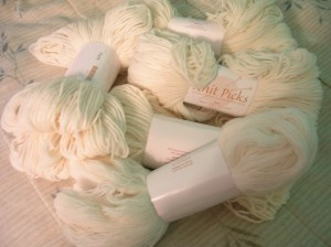 Blank Yarn from KnitPicks