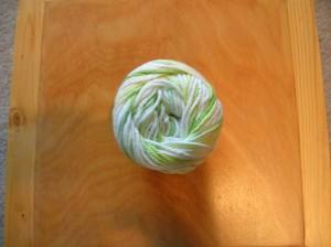 greenwhitecottonyarn
